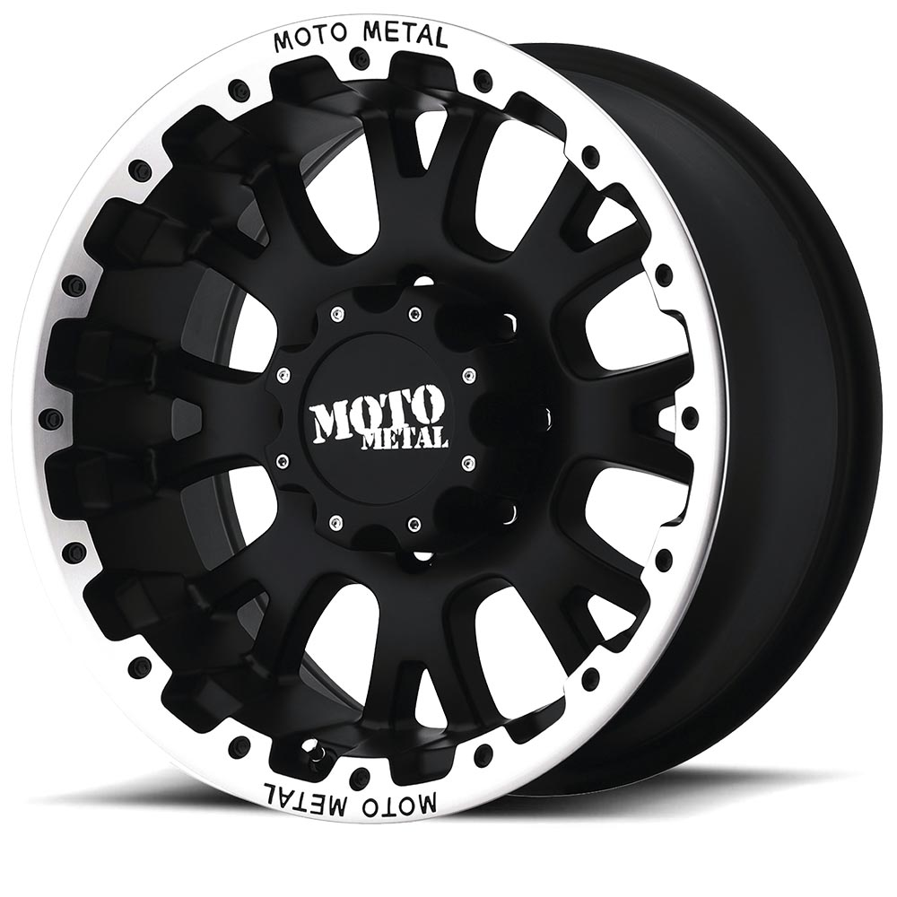 M0956-Matt Black Machined