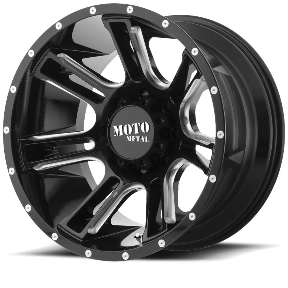 M0982-Gloss Black Milled